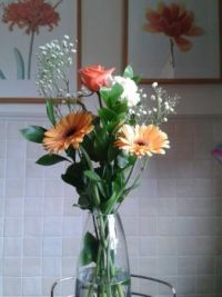 Flowers in a Vase  (3)