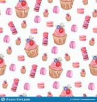 set-watercolor-different-taste-macaroons-cupcakes-collection-variation-sweets-hand-painted-food-objects-isolated-132582289