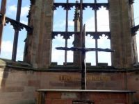 Charred Cross in the Old Coventry Cathedral  (2)