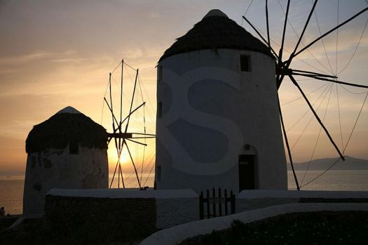 Windmills@Sunset--Small