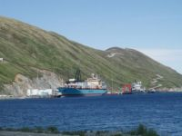 Docked at Dutch Harbor