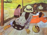 The Siesta by Paul Gauguin (1894)