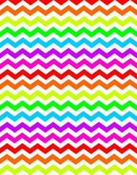 063 - Neon Zigzag