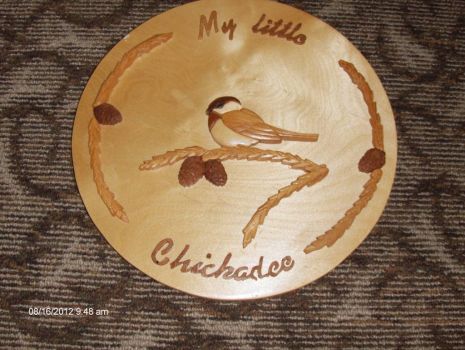 My Little Chickadee(Intarsia)