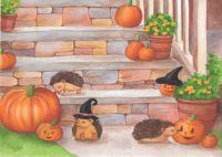 Halloween Hedgehogs!