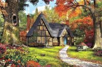 "Serenity Series #67 - ""Woodland Cottage"""
