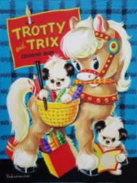 Themes Vintage illustrations/pictures - Trotty and Trix