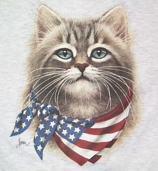 Have a Purr-fect Independence Day Everybody...