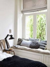 Comfy And Cozy ~ A Reading Nook Window Seat