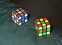Rubik's cube colors