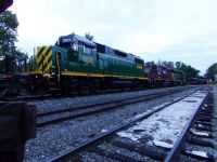 GP38-2 (x3) parked for a bit