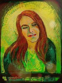 My friend Mary    (Digital drawing  (ArtRage app))