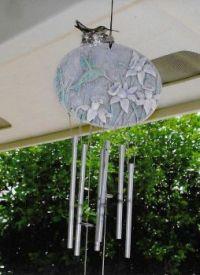Mama Hummingbird On Nest