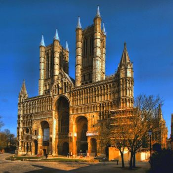 HDR of Lincoln Cathedral - 8th Mar 2011