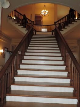 Stairs in the Old State Capitol - Il.