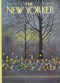The New Yorker - November 25, 1972  / Cover art by Charles E. Martin