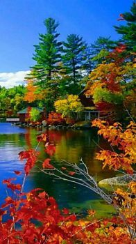 The Lake in Autumn....