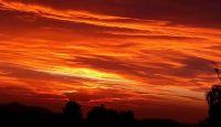 Agua Dulce, CA  Sunset