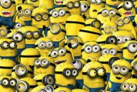 THEME:  Yellow  ~ Find Minion Waldo . . .      (ᵔᴥᵔ)