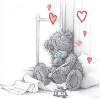 A Letter For My Valentine - Tatty Teddy