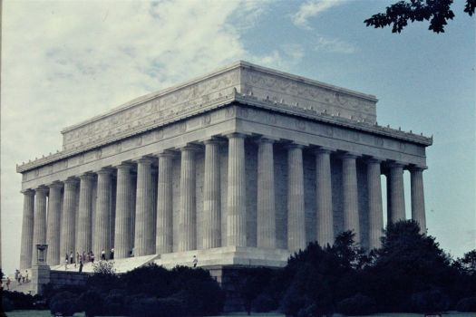 Lincoln Memorial, August 1969