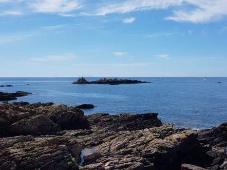 Rugged Devon coast