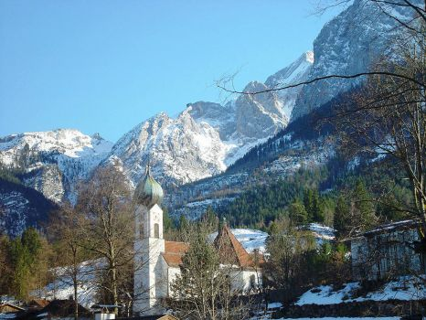 garmisch-partenkirchen-Germany.