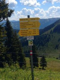 Trail Signs Austria (near Westendorf Tirol)