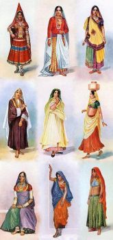 Women's Costumes from India