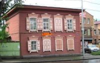 House in Irkutsk, by Petr Adam Dohnálek (pic cropped)