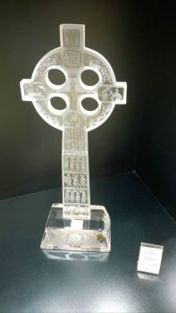 Celtic Cross, Waterford Crystal, Ireland