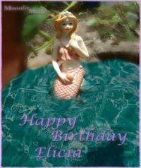 Mermaid Birthday e card (Ex. Small)