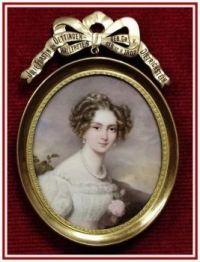 Portrét šlechtičny...  Portrait of a noblewoman ...