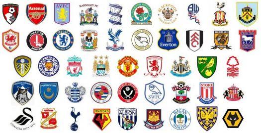 Premier League Clubs: Solve Premier League Logos 2016 Jigsaw Puzzle Online With