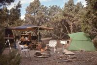'91 Duet Trip--Camp at the Edge of the Pinons Above The Ruby Marshes