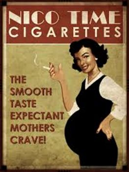 Early cigarette ad