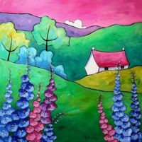 Larkspur Cottage - Gillian Mowbray