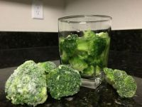 Tip: Run Out of Ice? Use Frozen Vegetables!