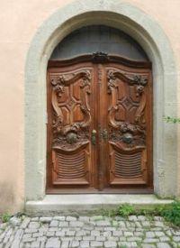 Mooie deur in Rotenburg o.d. Tauber