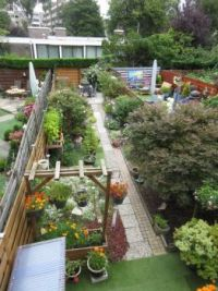 Aerial back garden view (update 27 July 2020)
