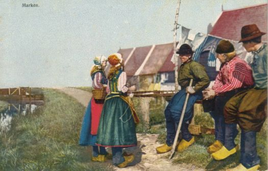 Historic photos of Marken. A series within the series.
