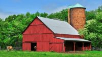Red Barn -- Oxen Hill, Maryland...