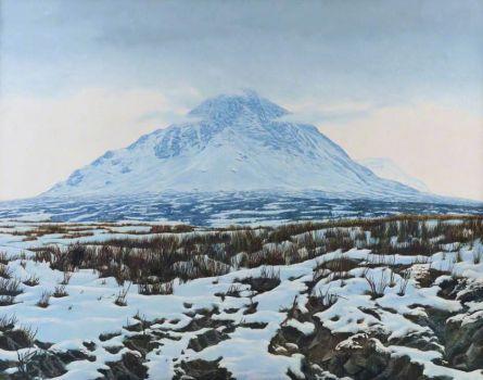 Buchaille Etive Mhor I  Reinhard Behrens (b.1951)  Inverness Museum and Art Gallery (High Life Highland)