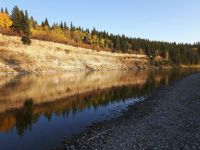 Red Deer River in Fall