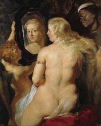 Rubens' Venus at a Mirror c1615