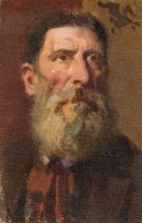 Frederick William MacMonnies (American, 1863–1937), Portrait of a Man