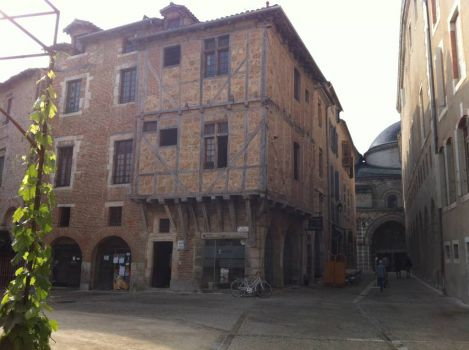 Cahors, old town and Cathedral