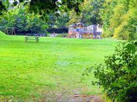 Slåtterbacken playground from a distance