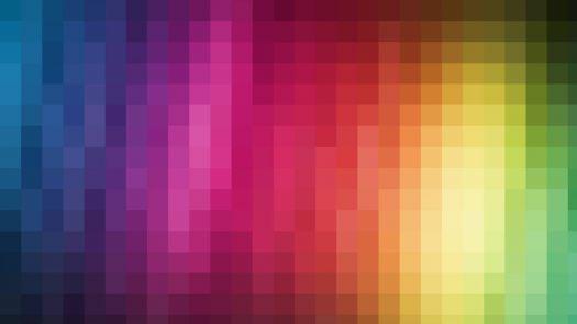 pixelated colors