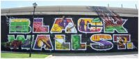 Black Wall Street mural, Tulsa, Oklahoma ~ Greenwood Art Project
